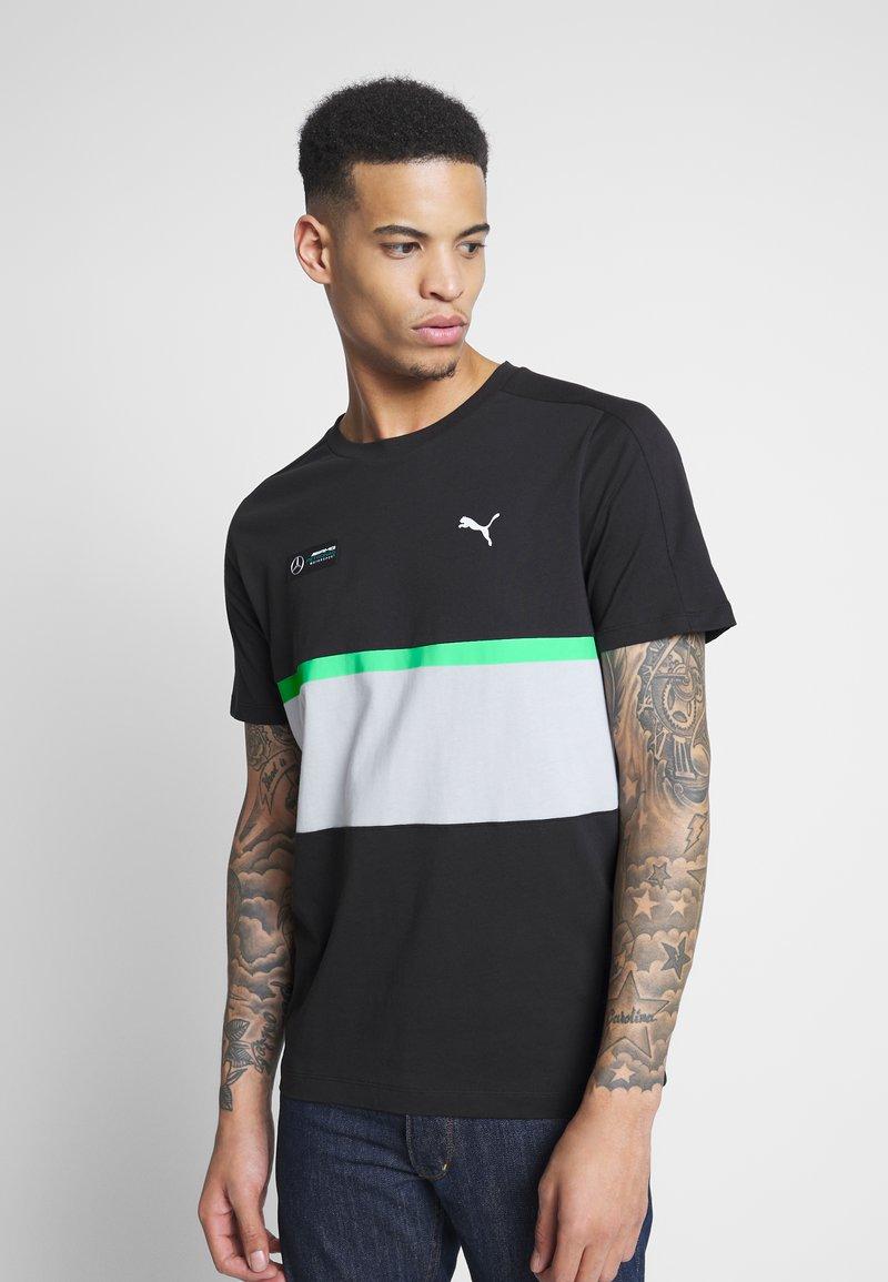 Puma - AMG TEE - Print T-shirt - puma black