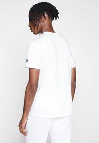 Puma - BMW GRAPHIC TEE - Print T-shirt - puma white - 2