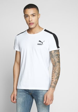 ICONIC - T-shirt z nadrukiem - white
