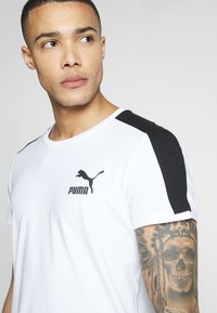 Puma - ICONIC - Print T-shirt - white - 4