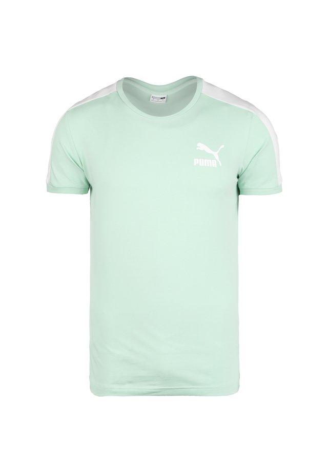 ICONIC - T-shirt imprimé - mist green