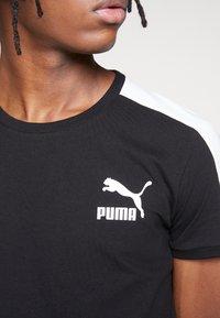 Puma - ICONIC - Print T-shirt - puma black - 5