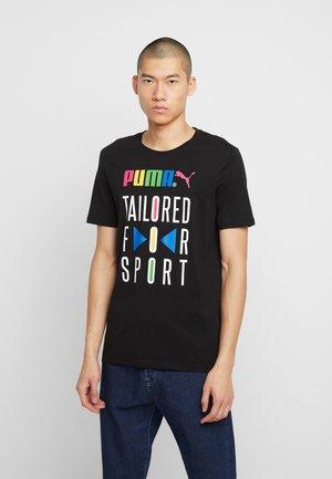 GRAPHIC TEE - T-shirt imprimé - black