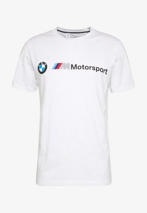 BMW LOGO TEE - Triko spotiskem - puma white