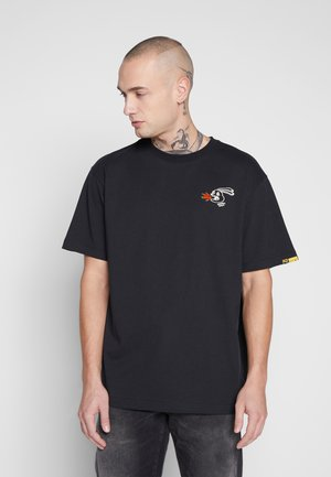 RANDOM EVENT TEE - T-shirt imprimé - black