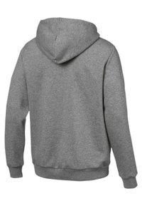 Puma - veste en sweat zippée - medium grey heather - 1