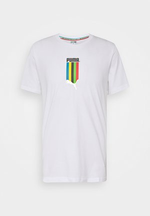 GRAPHIC TEE - T-shirt imprimé - white gold