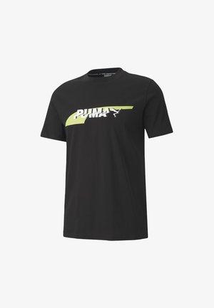 AVENIR GRAPHIC TEE - Print T-shirt -  black