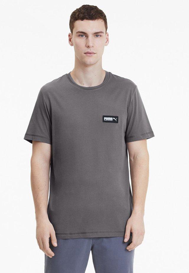 PUMA FUSION MEN'S TEE MAN - T-shirt imprimé - castlerock