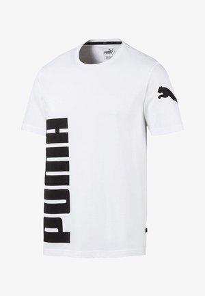 SHORT SLEEVE - T-shirt imprimé -  white