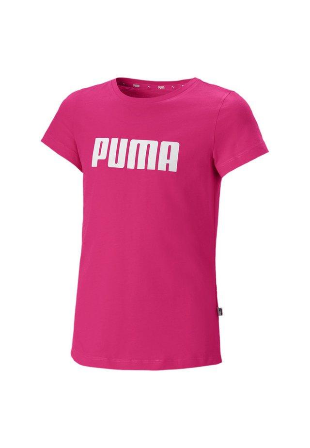 T-Shirt print - beetroot purple