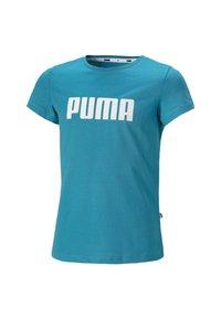 Puma - Print T-shirt - caribbean sea - 0