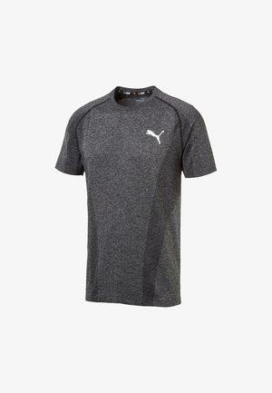 EVOKNIT TEE HOMMES - T-shirt imprimé - puma black