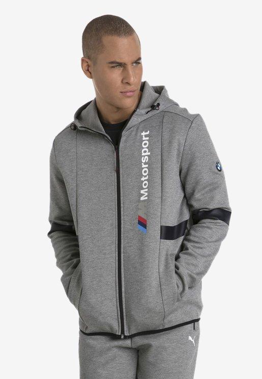 Puma - BMW MOTORSPORT  - Sweatjacke - medium grey heather