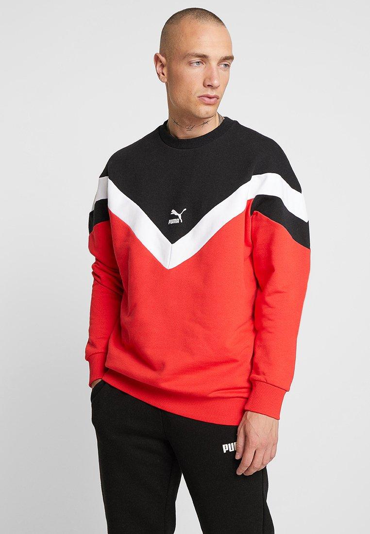 Puma - ICONIC CREW  - Sweatshirt - high risk red