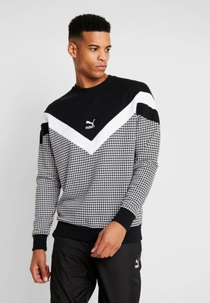 TREND  CREW - Sweater -  black-houndstooth