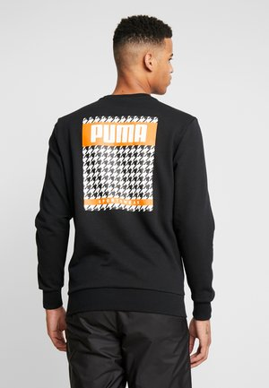 TREND GRAPHIC CREW - Felpa - black