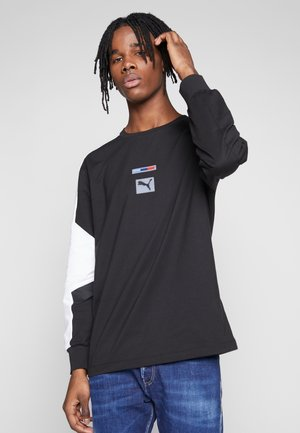 BMW MMS STREET MIDLAYER - T-shirt à manches longues - puma black