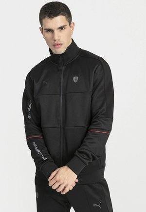 PUMA FERRARI T7 MEN'S TRACK JACKET MALE - Veste de survêtement - puma black