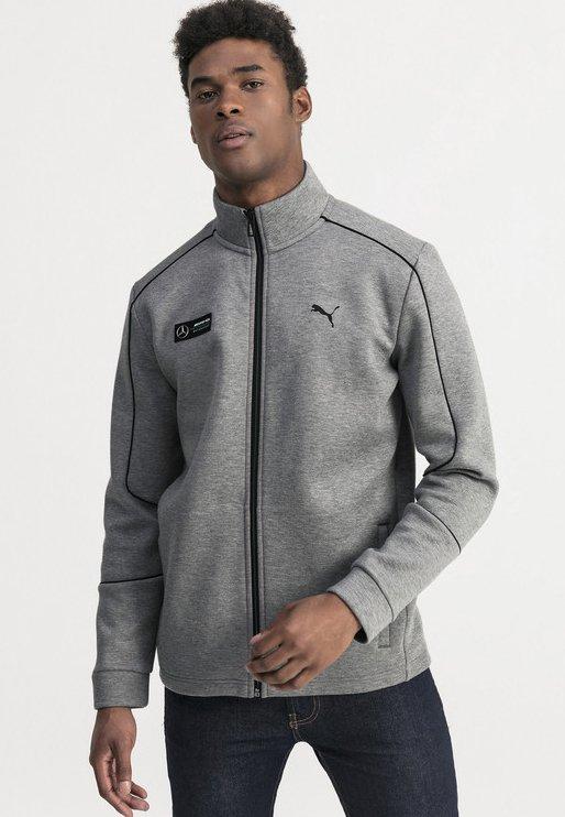 veste en sweat zippée - medium grey heather