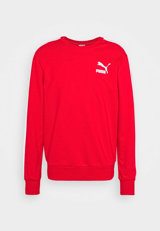 ICONIC CREW - Sudadera - high risk red