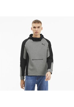 EVOSTRIPE - Hoodie - medium gray heather