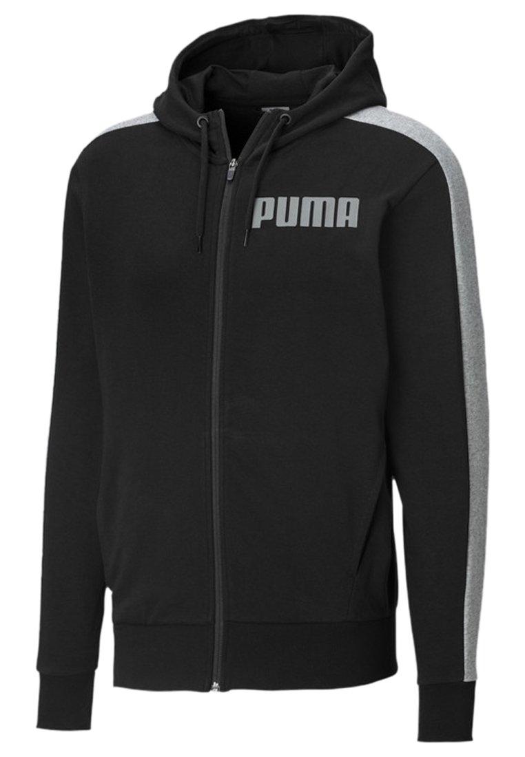 Puma - Zip-up hoodie - cotton black