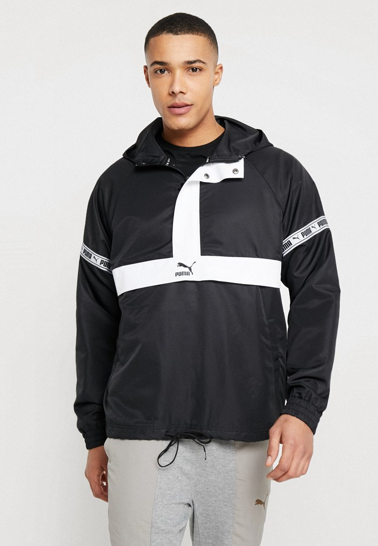 Puma - SAVANNAH - Windbreaker - black/white