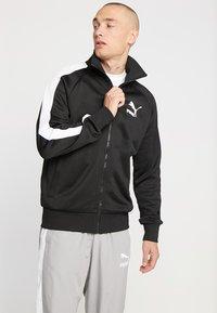 Puma - ICONIC TRACK - veste en sweat zippée - black - 0