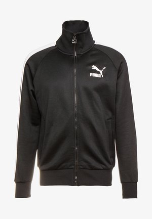ICONIC TRACK - Zip-up hoodie - black