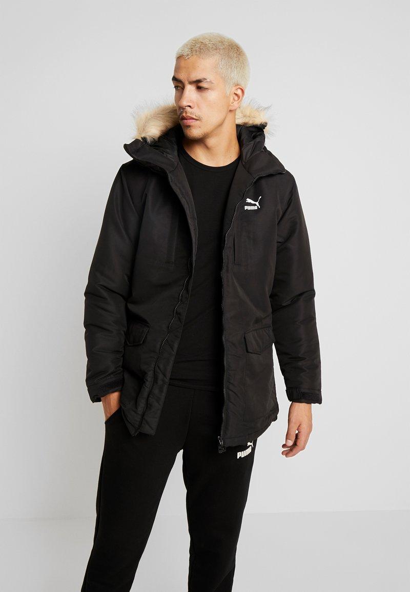 Puma - CLASSICS PADDED JACKET - Veste d'hiver - black