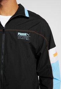 Puma - PUMA X TETRIS TRACK JACKET - Trainingsvest - black - 6