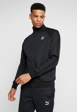 LUXE TRACK JACKET  - Treningsjakke - cotton black