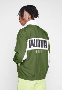 Puma - JACKET - Veste de survêtement - dark olive - 2