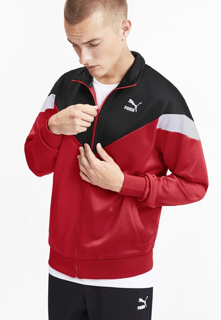 Puma - Veste de survêtement - red