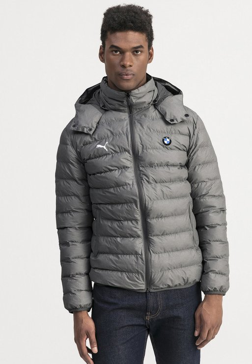 Puma - BMW MOTORSPORT - Winterjacke - medium grey