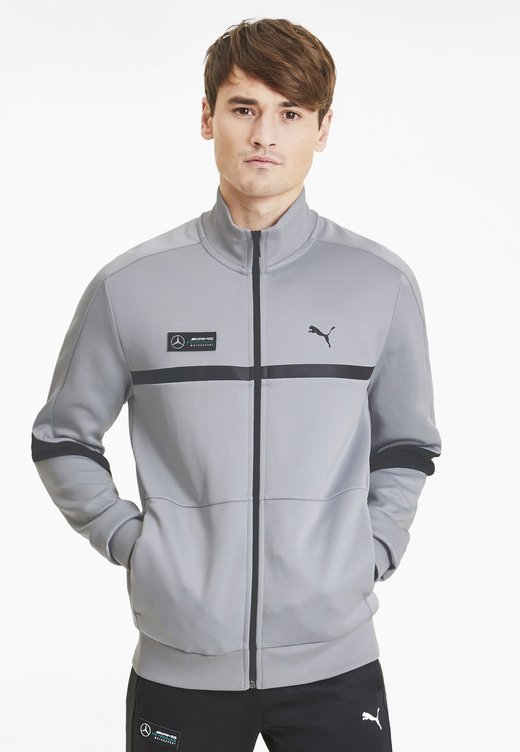 Training jacket - team silver