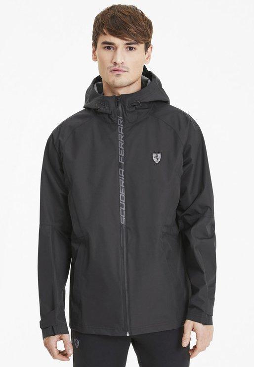 SCUDERIA FERRARI RCT  - Waterproof jacket - black