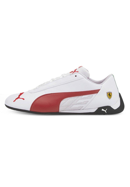 FERRARI R-CAT - Sneakers laag - puma white-rosso corsa