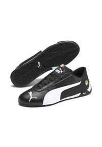 Puma - FERRARI R-CAT - Sneakers basse - black/white - 3