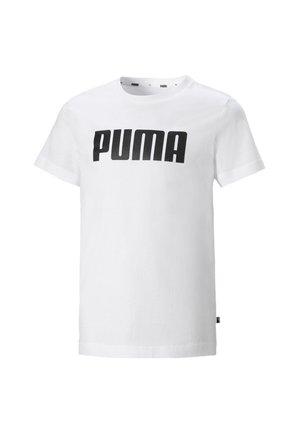 ESSENTIALS  - Print T-shirt - puma white
