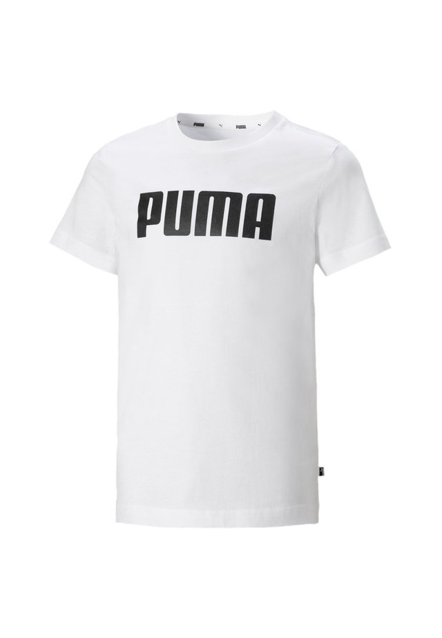 ESSENTIALS  - T-shirt print - puma white
