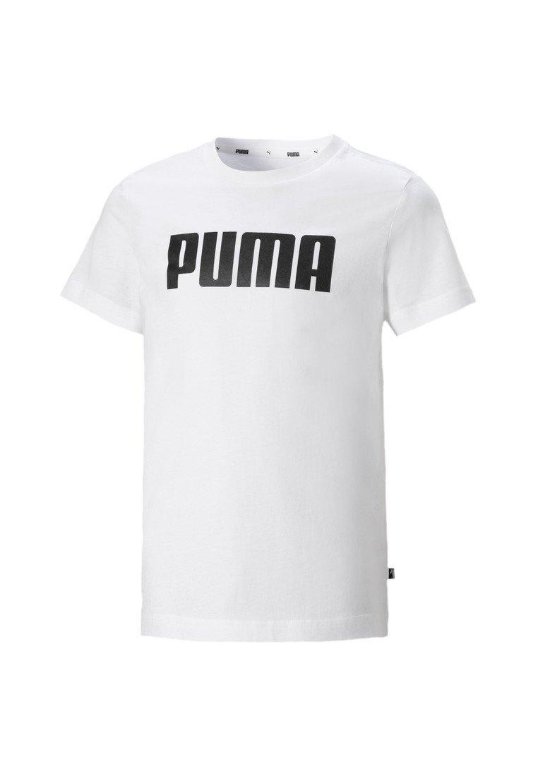 Puma - ESSENTIALS  - T-shirt imprimé - puma white