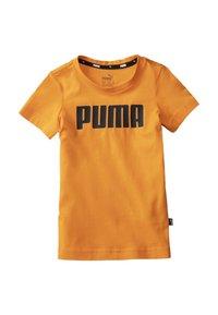 Puma - ESSENTIALS  - T-shirt imprimé - orange popsicle - 0