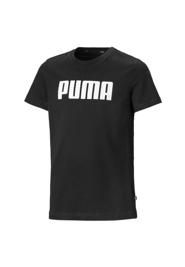 Puma - ESSENTIALS  - T-shirt imprimé - black