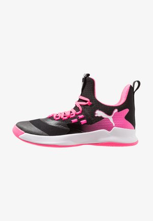 RISE XT FUSE 2 - Scarpe da pallamano - black/white/knockout pink