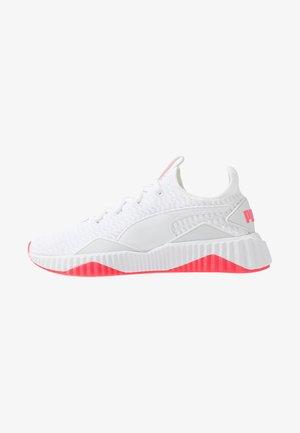 DEFY - Sports shoes - white/black