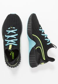 Puma - DEFY - Gym- & träningskor - black/milky blue - 1