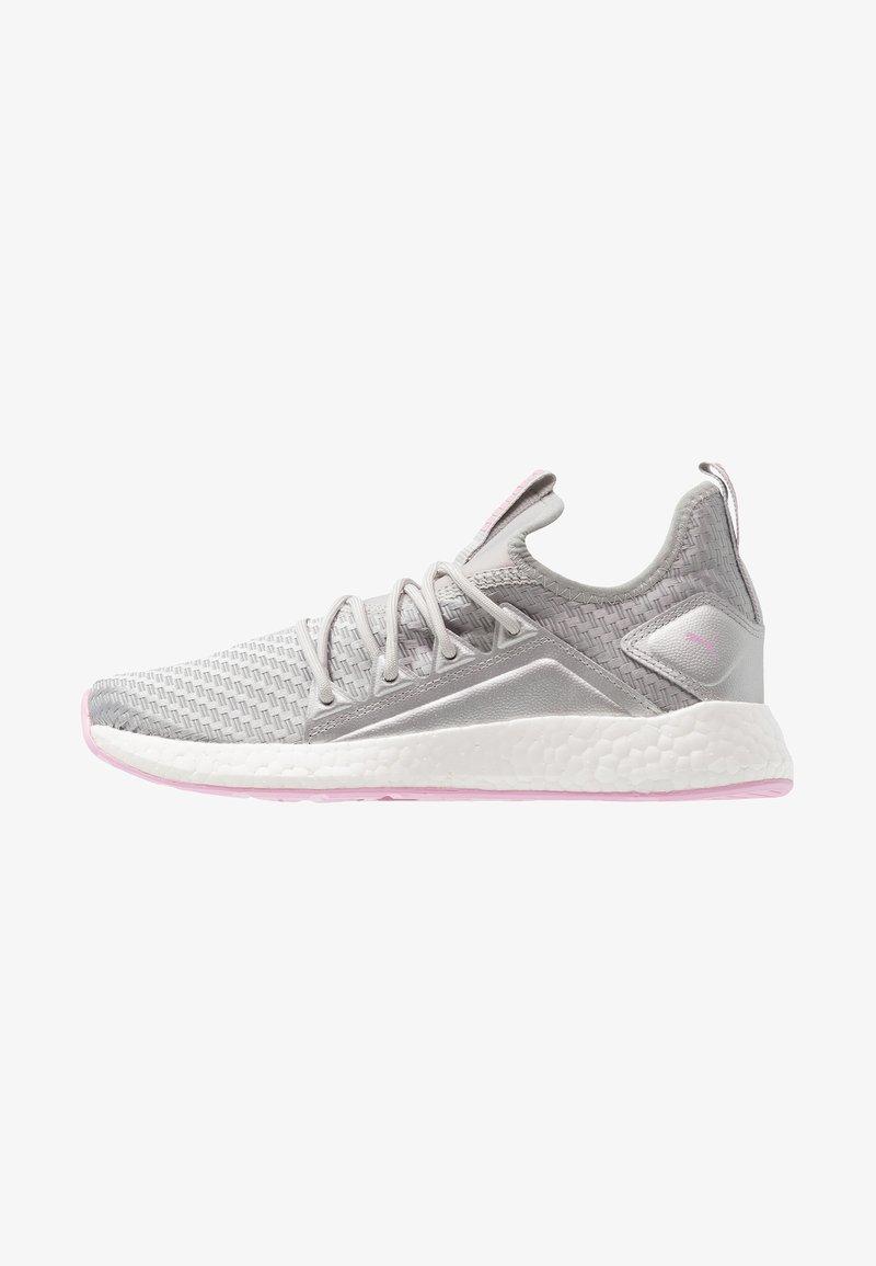 Puma - NRGY NEKO COSMIC - Neutral running shoes - silver/lilac sachet