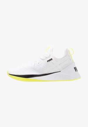 JAAB XT - Gym- & träningskor - white/yellow alert